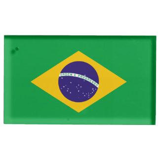 Suportes Para Cartoes De Mesa Bandeira de Brasil