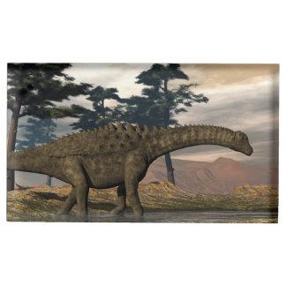 Suportes Para Cartões De Mesa Dinossauro do Ampelosaurus