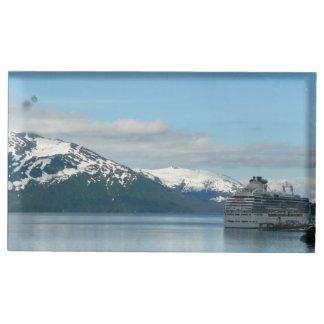 Suportes Para Cartões De Mesa Fotografia do Alasca do viagem das férias do