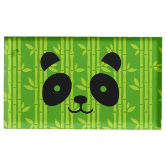 Suportes Para Cartoes De Mesa panda_bamboo