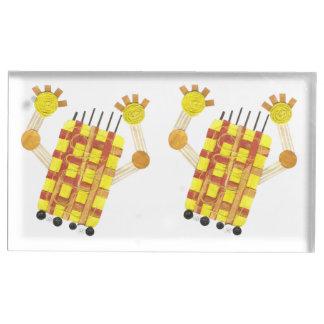 Suportes Para Cartões De Mesa Titular do cartão de patinagem da mesa do sabão