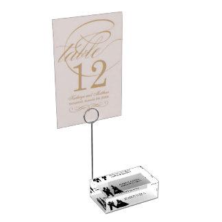 Suportes Para Cartões De Mesa Titular do cartão Wedding da mesa do casal