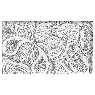 Suportes Para Cartões De Mesas Borboleta floral decorativa - o múltiplo colore o