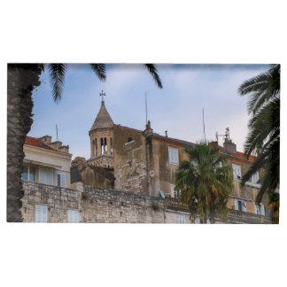 Suportes Para Cartões De Mesas Cidade velha, separação, Croatia