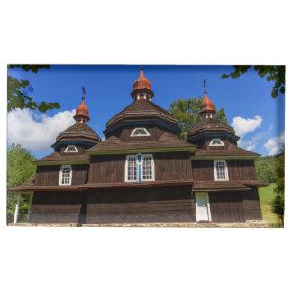 Suportes Para Cartões De Mesas Igreja Católica grega, Nizny Komarnik, Slovakia