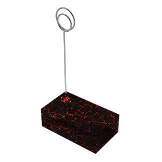 Suportes Para Cartões De Mesas Lava quente de Falln