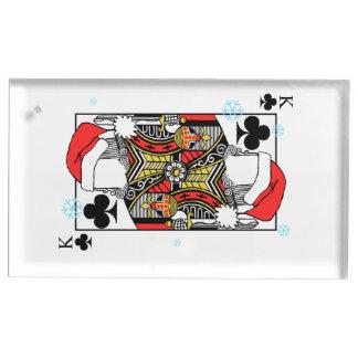 Suportes Para Cartões De Mesas Rei do Feliz Natal dos clubes - adicione suas