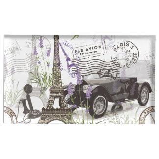 Suportes Para Cartoes De Mesas Vintage Paris