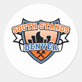 Suportes sul Denver Fancast Adesivo