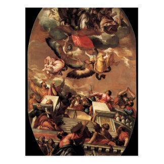 Suposição de Paolo Veronese- Cartões Postais