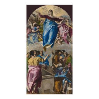 Suposição do Virgin por El Greco Fotografias