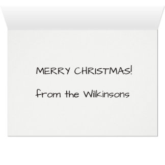 Suposição que cartão de Natal
