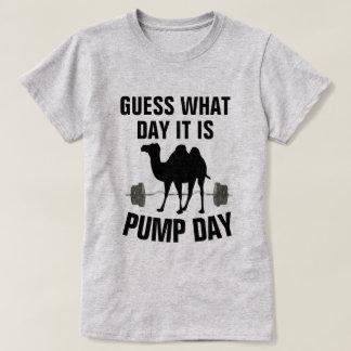 Suposição que dia é camisa do Gym do dia de