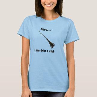 Sure eu posso conduzir uma camiseta do Dia das