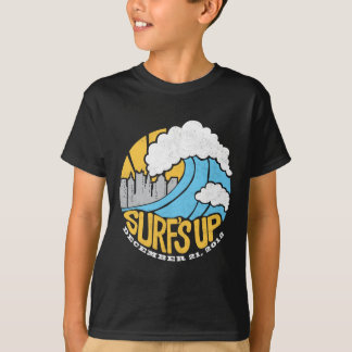 Surf acima camiseta