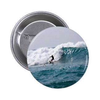 Surf acima em Havaí! Bóton Redondo 5.08cm