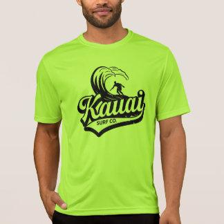 Surf Co de Kauai. Camisa de Wicking da umidade da