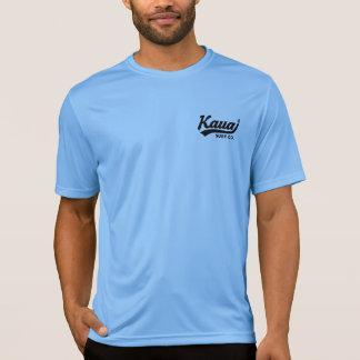 Surf Co de Kauai. Camisa de Wicking da umidade do