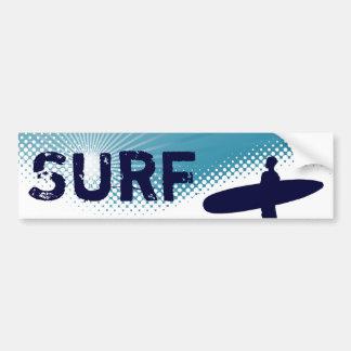 surf da luz do sol adesivo