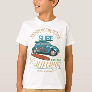Surf de Califórnia Camiseta