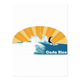 Surf de Costa Rica Cartao Postal