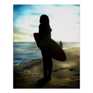 Surf de Summerday a CUNHA OC Pôster