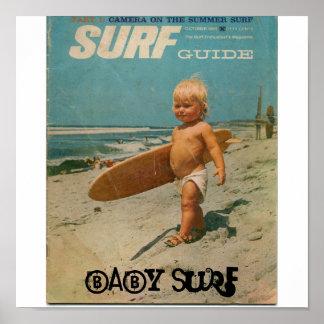 surf do bebê, surf do bebê poster