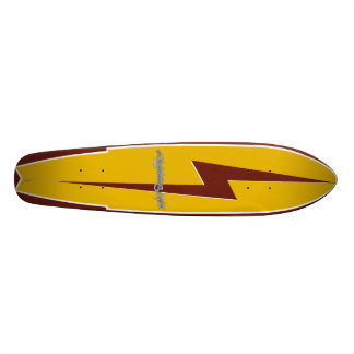 surf do relâmpago shape de skate 18,1cm