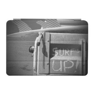 Surfar ascendente do surf da prancha do surf preto capa para iPad mini