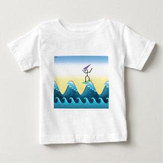 Surfista de Joe Camiseta Para Bebê