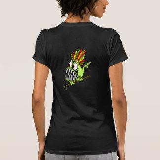 Surfista de Sammy - peixe indiano louco Camiseta