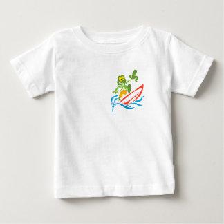 Surfista de Sammy - tubarão azul T-shirt