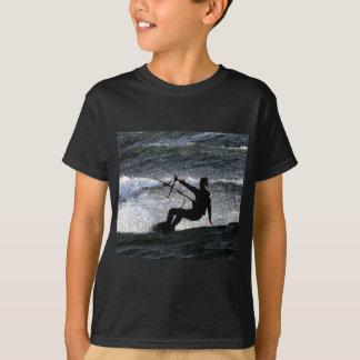 Surfista do papagaio camiseta