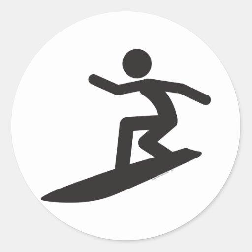 Aparador Com Pés Em X ~ Surfista T Adesivo Zazzle
