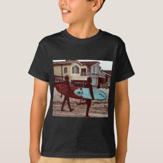 Surfistas da velha escola camiseta