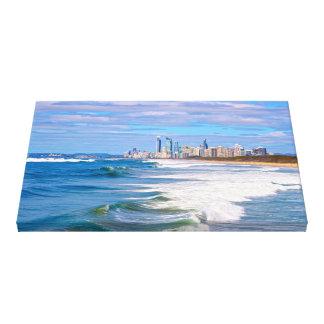 Surfistas paraíso, Gold Coast, Austrália