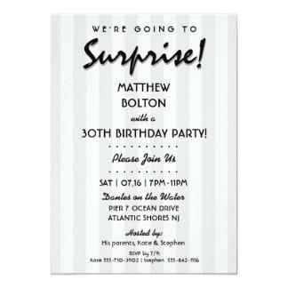 SURPRESA! 30o ou algum convite de aniversário