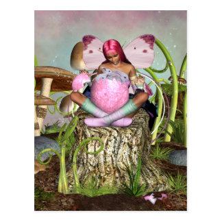 Surpresa da páscoa - páscoa Poscard do primavera Cartão Postal