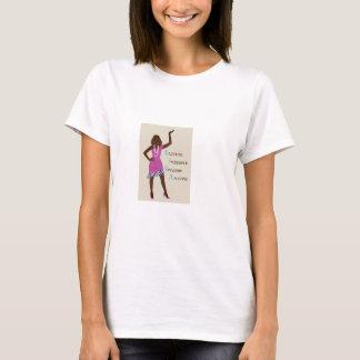 Surpresa Vivacious incrível do brilho Camiseta