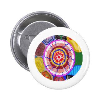 Surya Chakra - energia da fonte de Sun Bóton Redondo 5.08cm