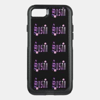 Susan, nome, logotipo, caso de Otterbox do iPhone Capa iPhone 7 Commuter OtterBox