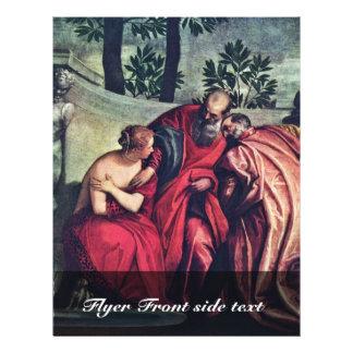 Susanna por Veronese Paolo (a melhor qualidade) Panfletos Personalizados