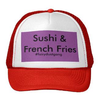 sushi & batatas fritas boné