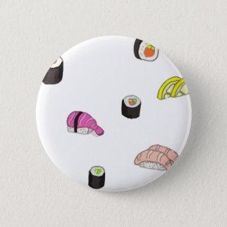 Sushi e Sashimi Bóton Redondo 5.08cm