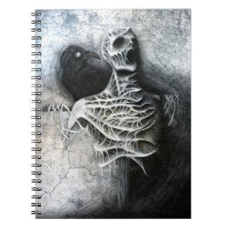 Sussurros de um medo escondido - caderno