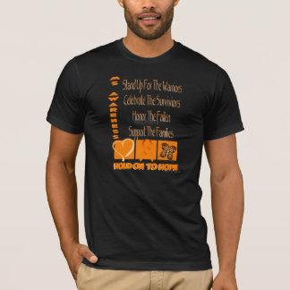 Sustentar de esclerose múltipla a camisa da