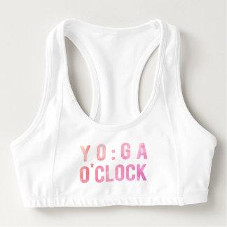 Sutiã Esportivo A ioga ostenta o sutiã