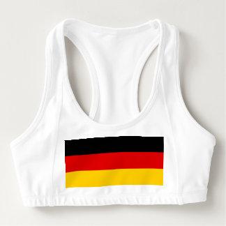 Sutiã Esportivo Bandeira nacional de Alemanha
