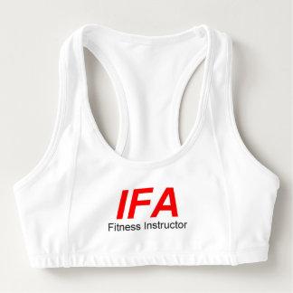 Sutiã Esportivo O Alo das mulheres do instrutor da malhação de IFA
