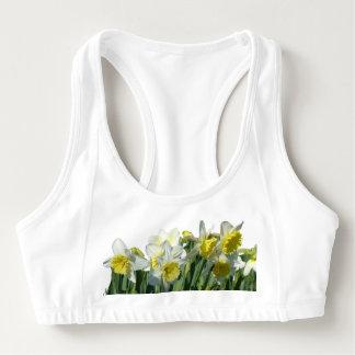 Sutiã Esportivo Os Daffodils Alo ostentam o sutiã